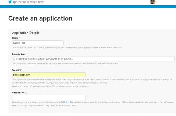 API nedir anlamak için ufak bir test uygulaması oluşturuyoruz